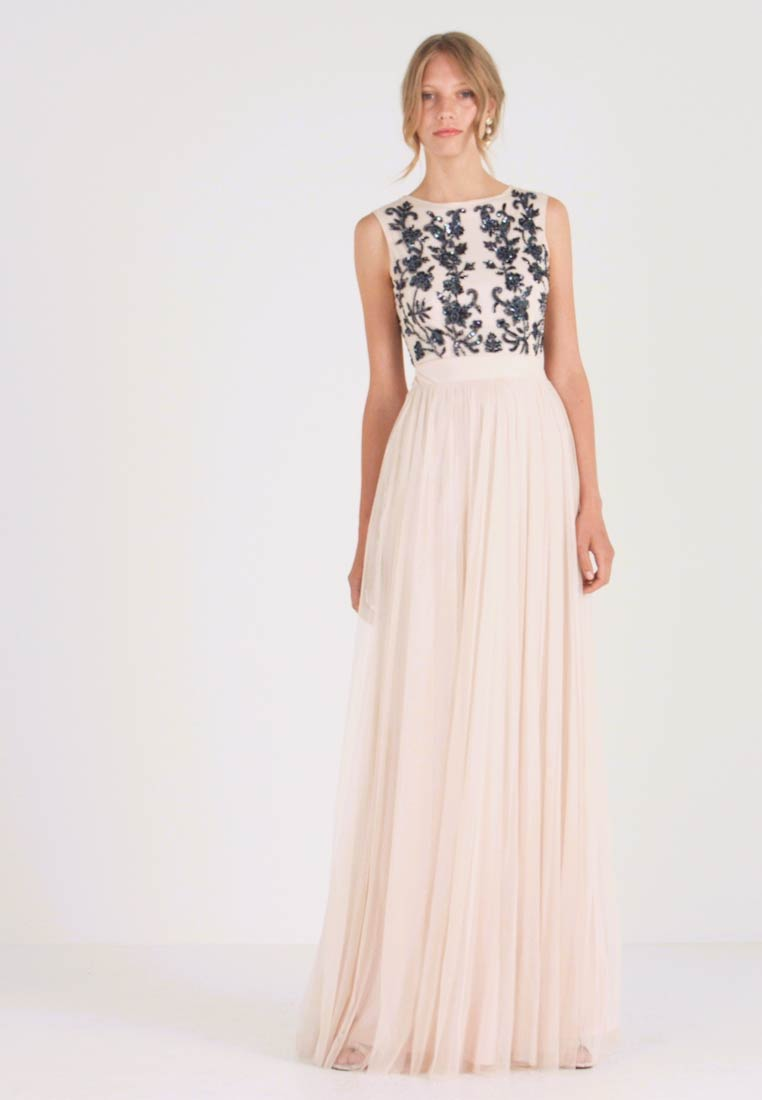 Lace & Beads - RONDA MAXI - Occasion wear - cream