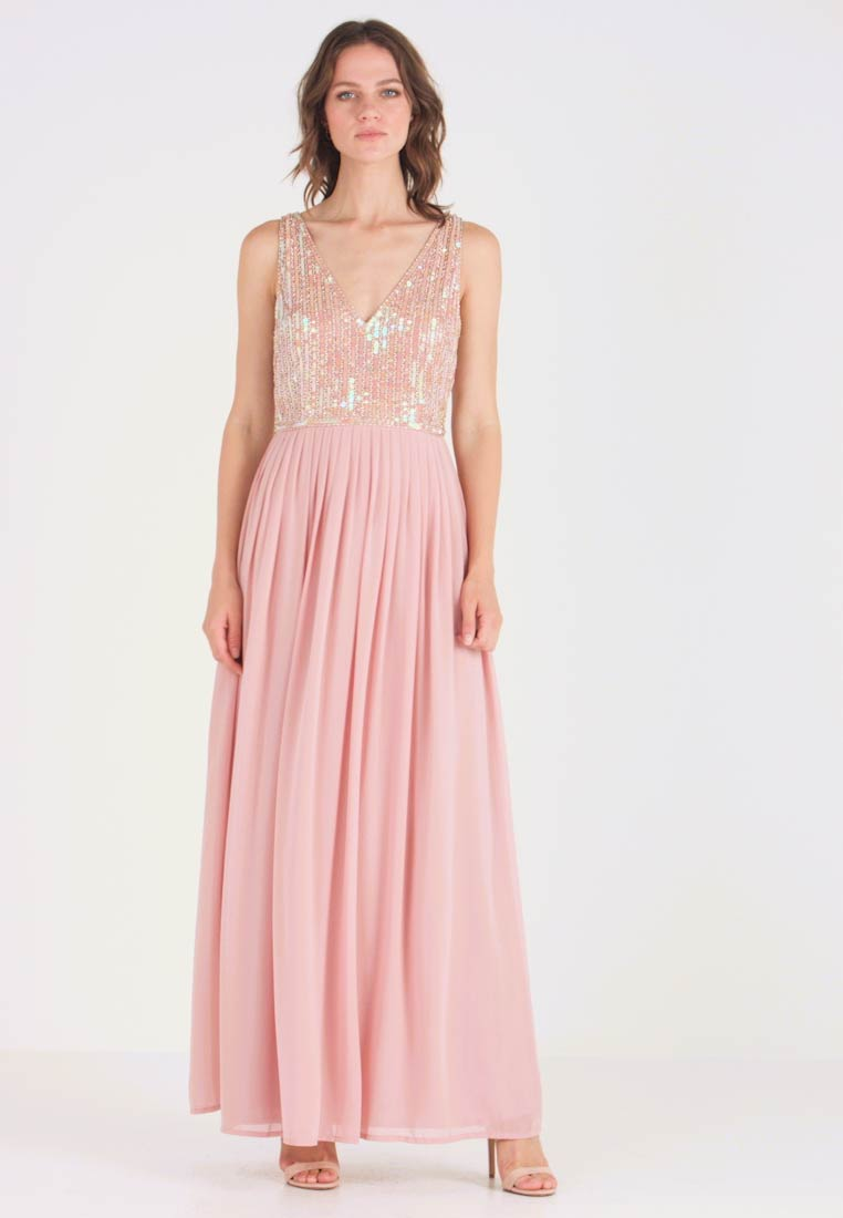 Lace & Beads - AMADINA MAXI - Occasion wear - nude