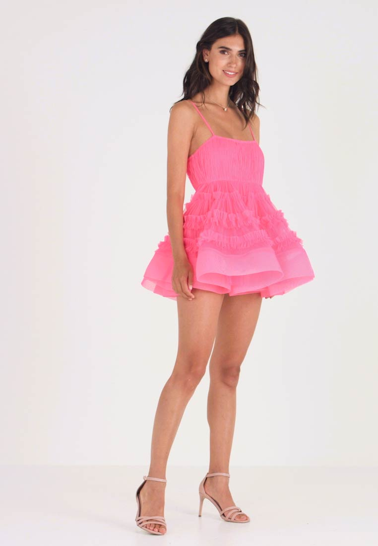 Lace & Beads - Cocktail dress / Party dress - fitted waist