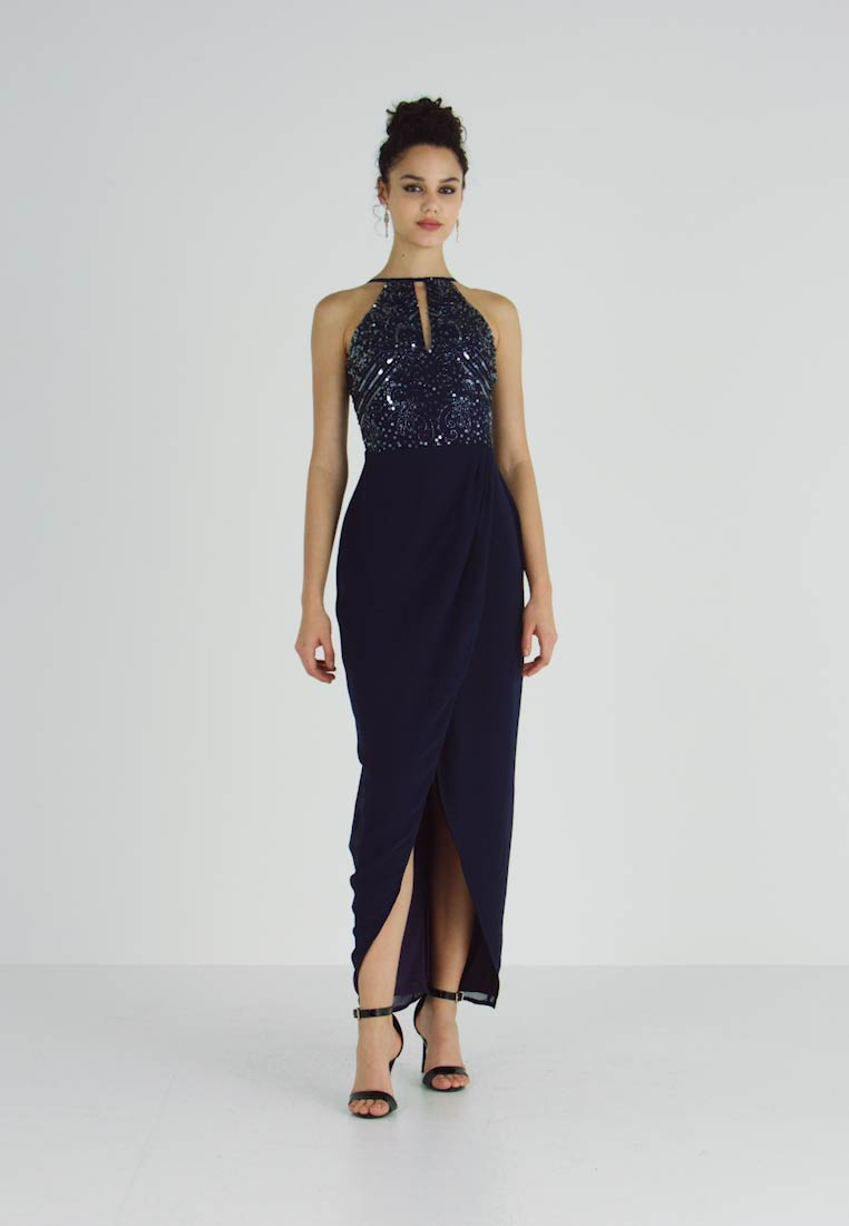 Lace & Beads - BASIA MAXI - Occasion wear - blue