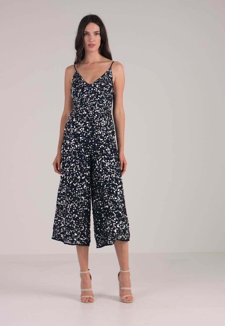Lace & Beads - AGRIM CULOTTES - Jumpsuit - navy