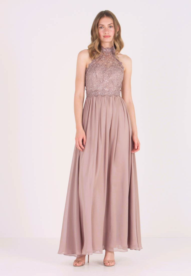 Robe de cocktail , taupe