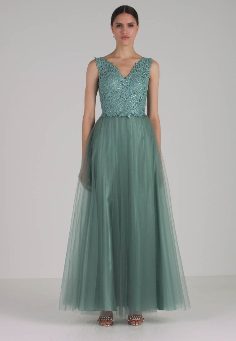 Mascara - Ballkleid - misty green
