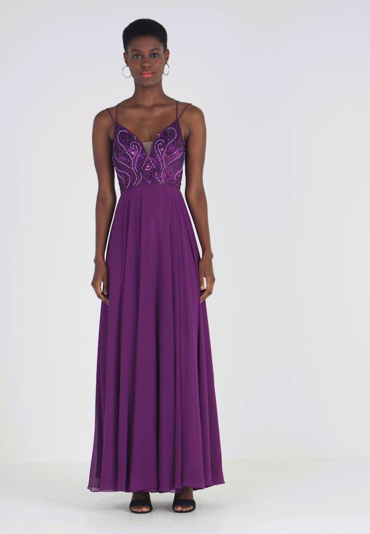 Mascara - Ballkleid - plum