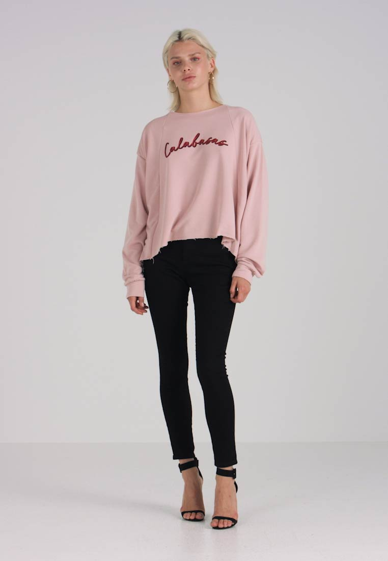 CALABASAS CROPPED Felpa cream