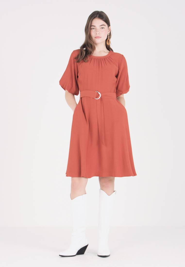 amp; Casual Mint Brown Dress Berry FXwqnxfP