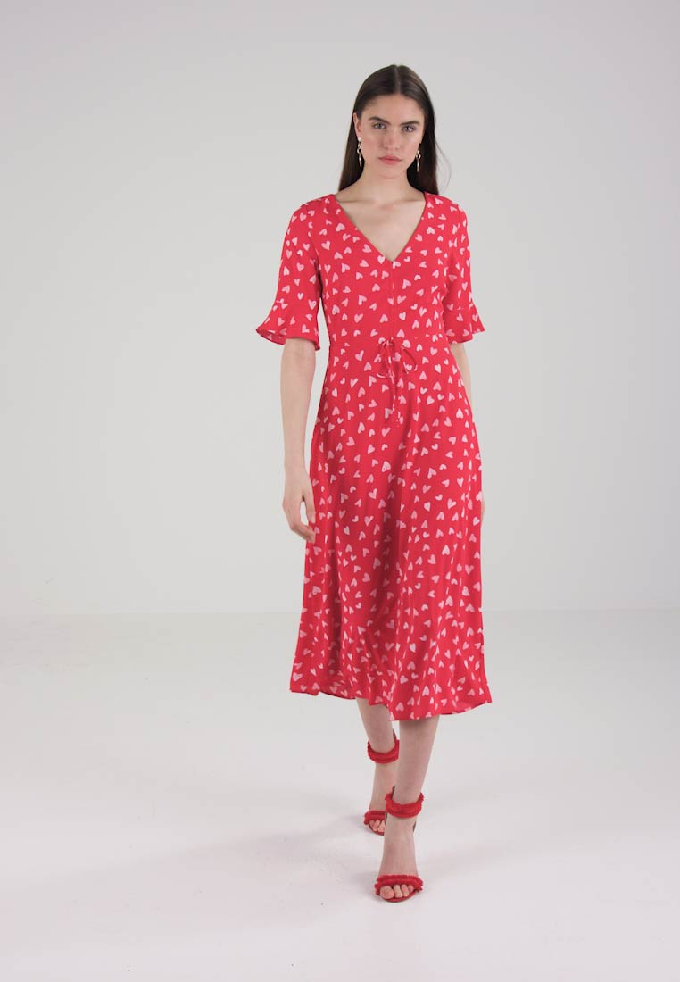mint&berry Robe longue - red