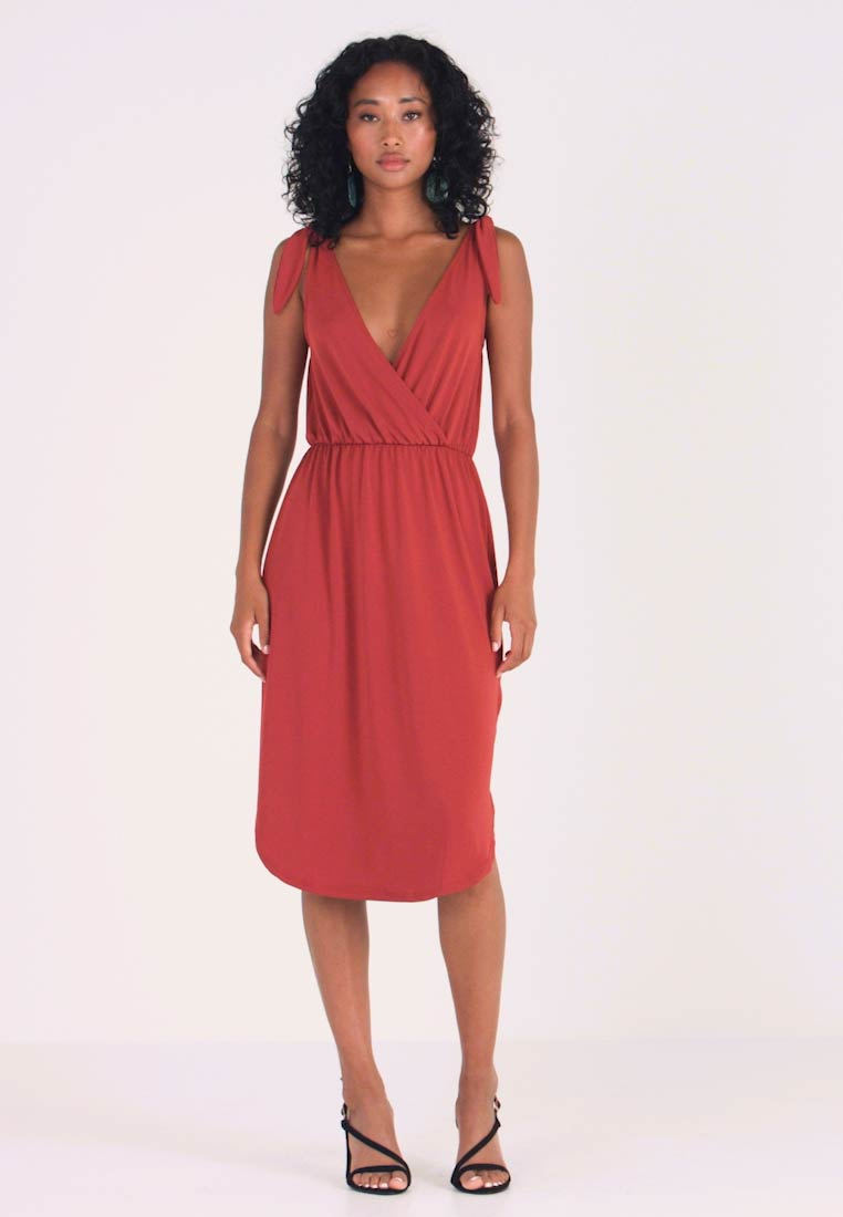 mint&berry - Jerseykleid - red ochre