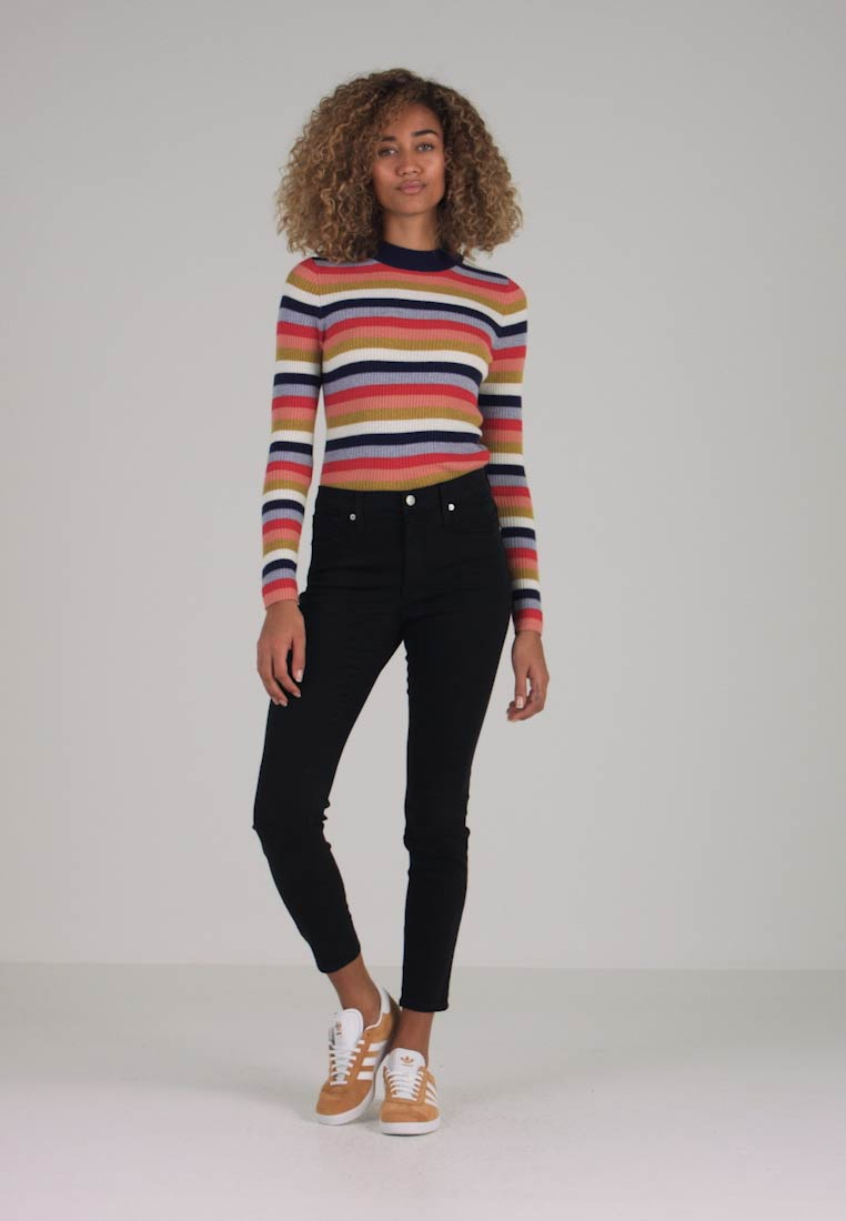 Madewell - HIGH RISE - Jeans Skinny Fit - lunar