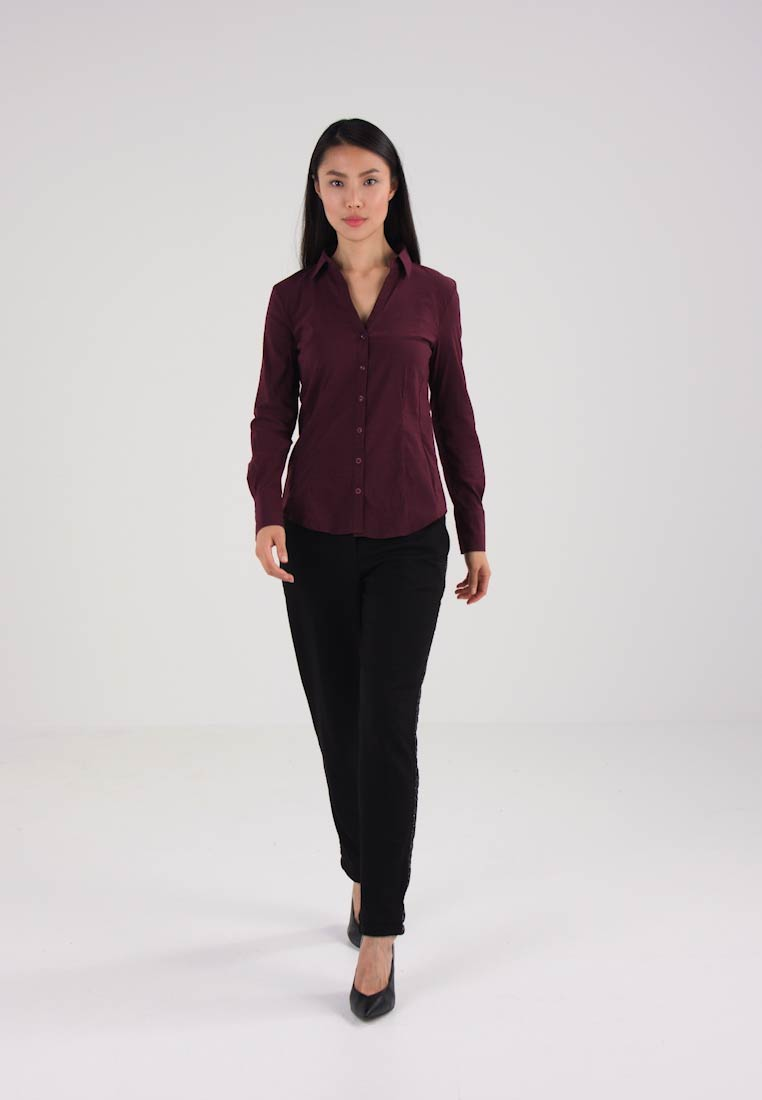More & More Camisa ruby wine