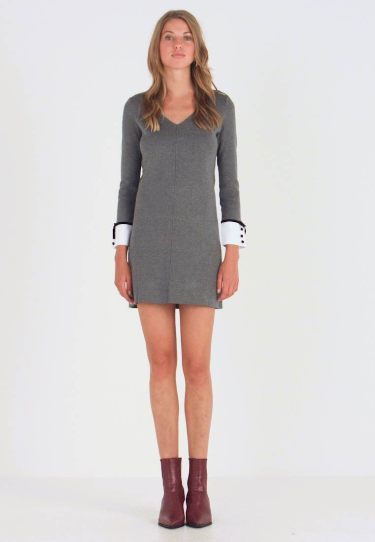 Morgan - Jumper dress - gris type