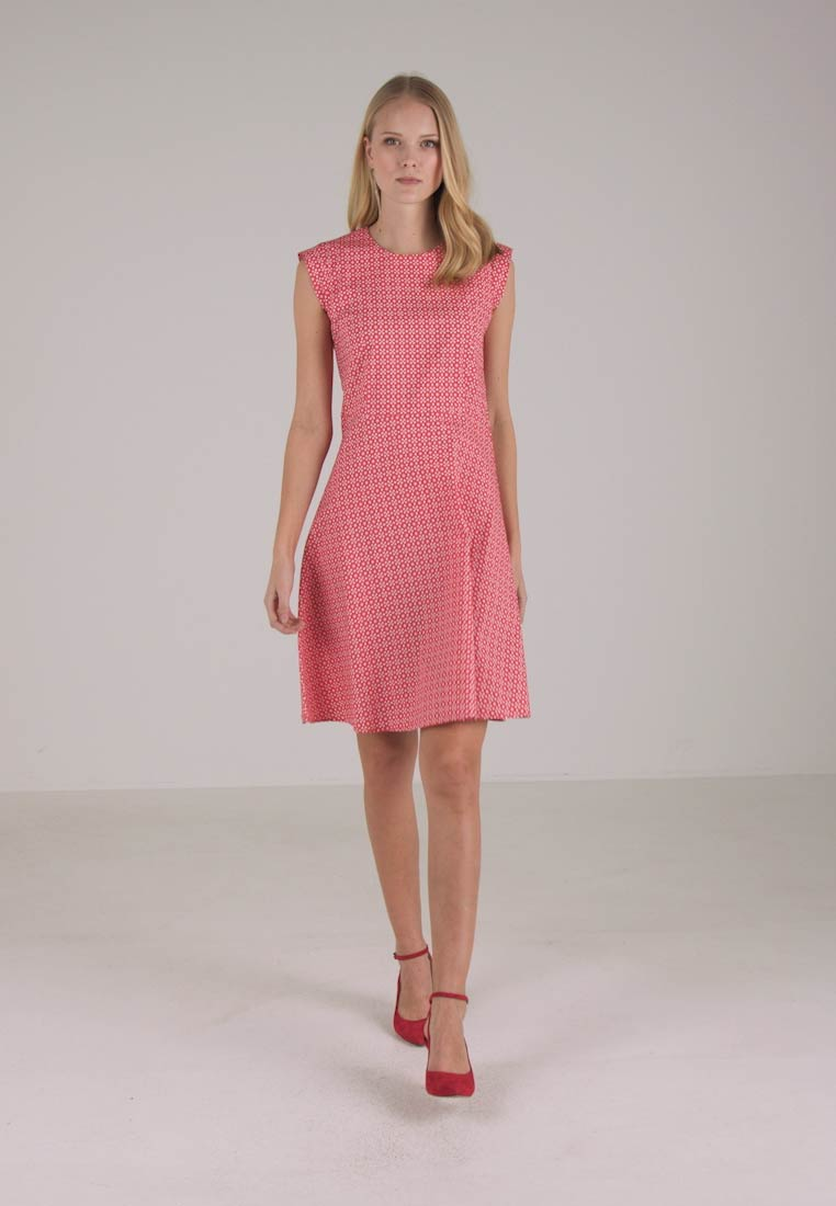 Day Sleeves Feminine Cap Marc O'polo Fitted Combo Dress q6YwHw7