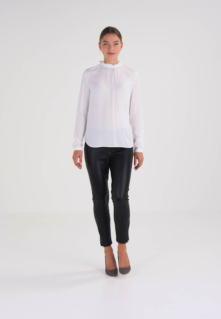 Marc O'Polo ELASTIC TURTLE NECK - Blouse blanc
