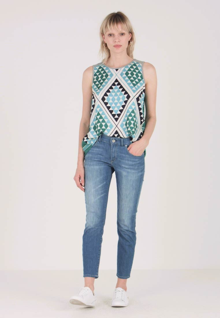 Hybrid Blouse Marc Style Combo O'polo Bluse 7pdxawrqp