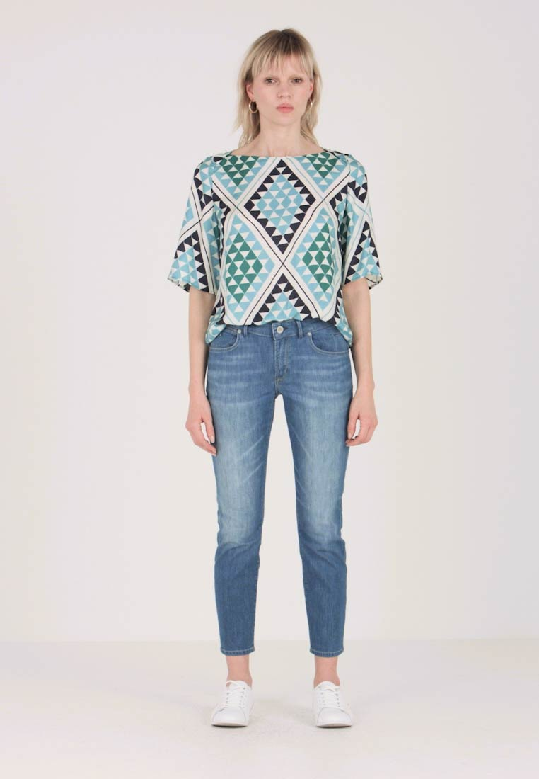 Marc O'Polo - GRAPHIC  - Bluse - green