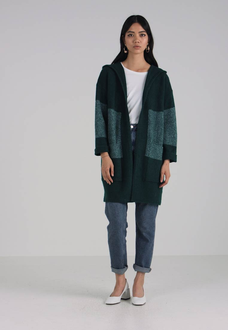 Shopping Monday Hooded Mavi Cyber Green Cardigan qOdW5Opw