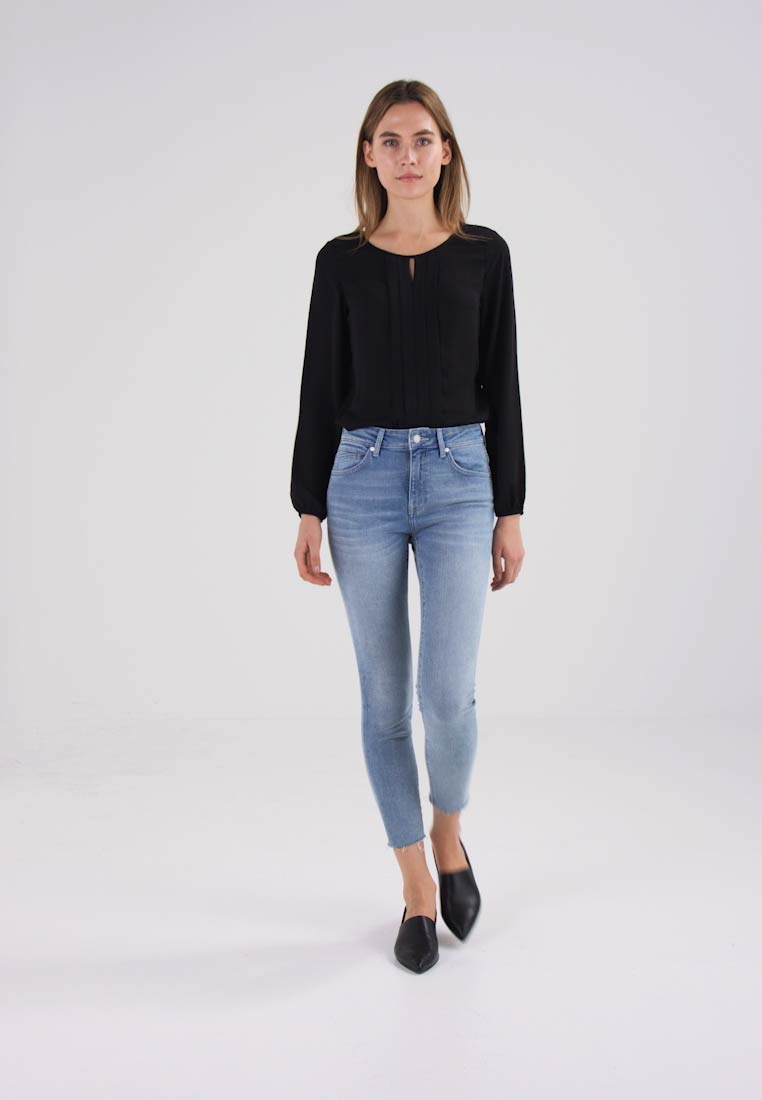 Mavi TESS - Jeans Skinny Fit bleach rome stretch