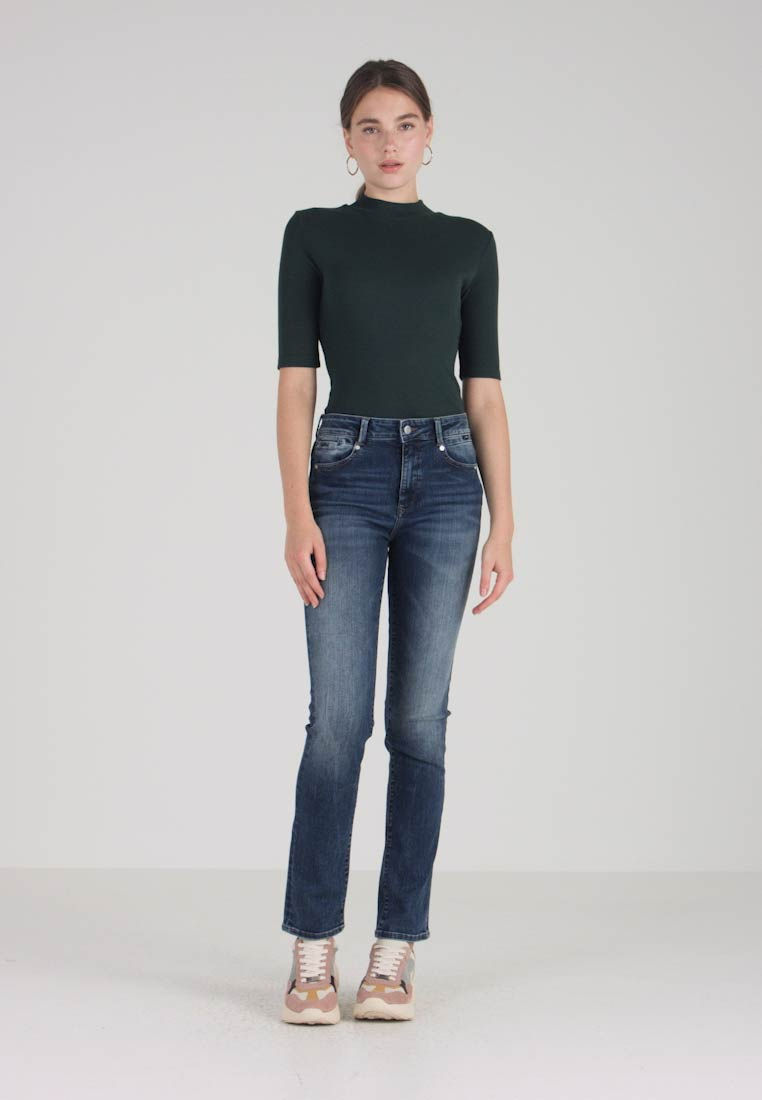 Mavi - DARIA - Straight leg jeans - deep brushed glam