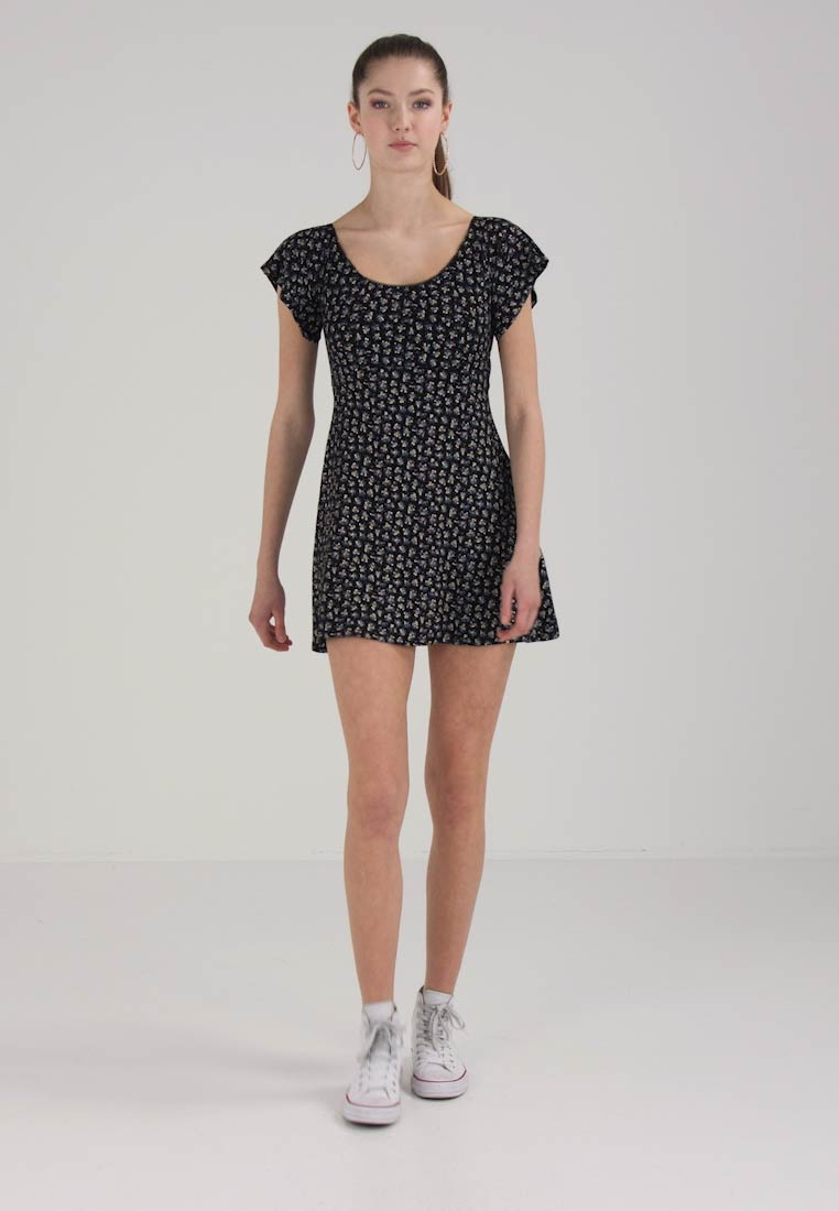 Miss Selfridge DITSY  - Jerseykjole - black