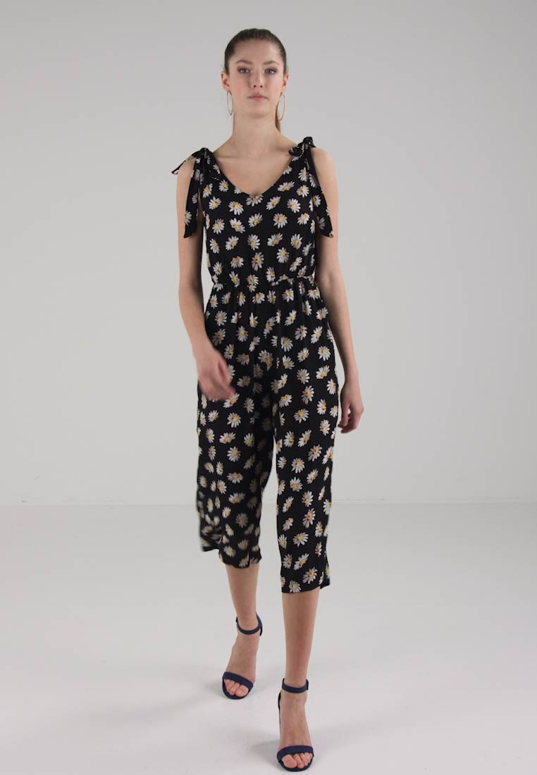 Miss Selfridge TIE SHOULDER  - Jumpsuit - black