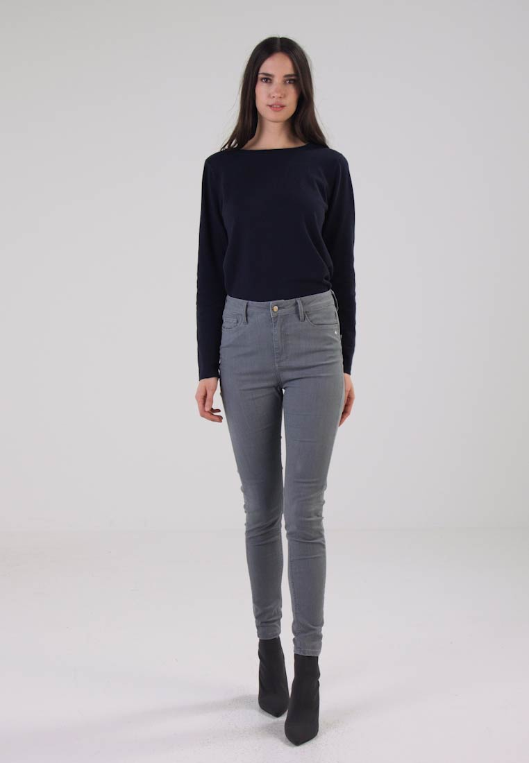 Monkee Genes - JANE HIGH WAISTED SILHOUETTE - Jeans Skinny Fit - pearl grey