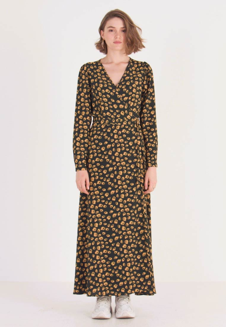 Minimum - DRESS - Maxi dress - darkest spruce