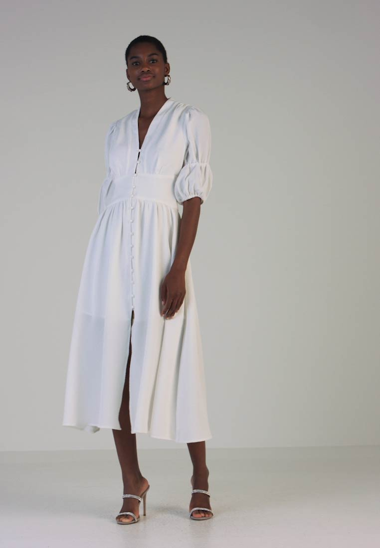 Mossman - THE UNSCATHED DRESS - Maxi dress - white