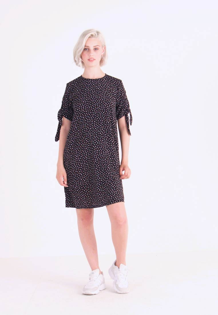 Monki - SELMA DRESS - Vestido informal - black