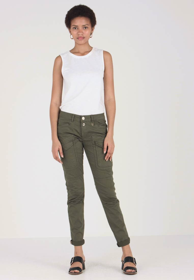 Mos Mosh - HURLEY DECO CARGO PANT - Bukser - army