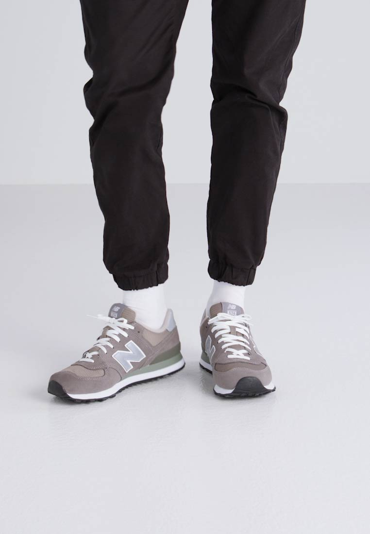 New Balance M574 - Baskets basses gris