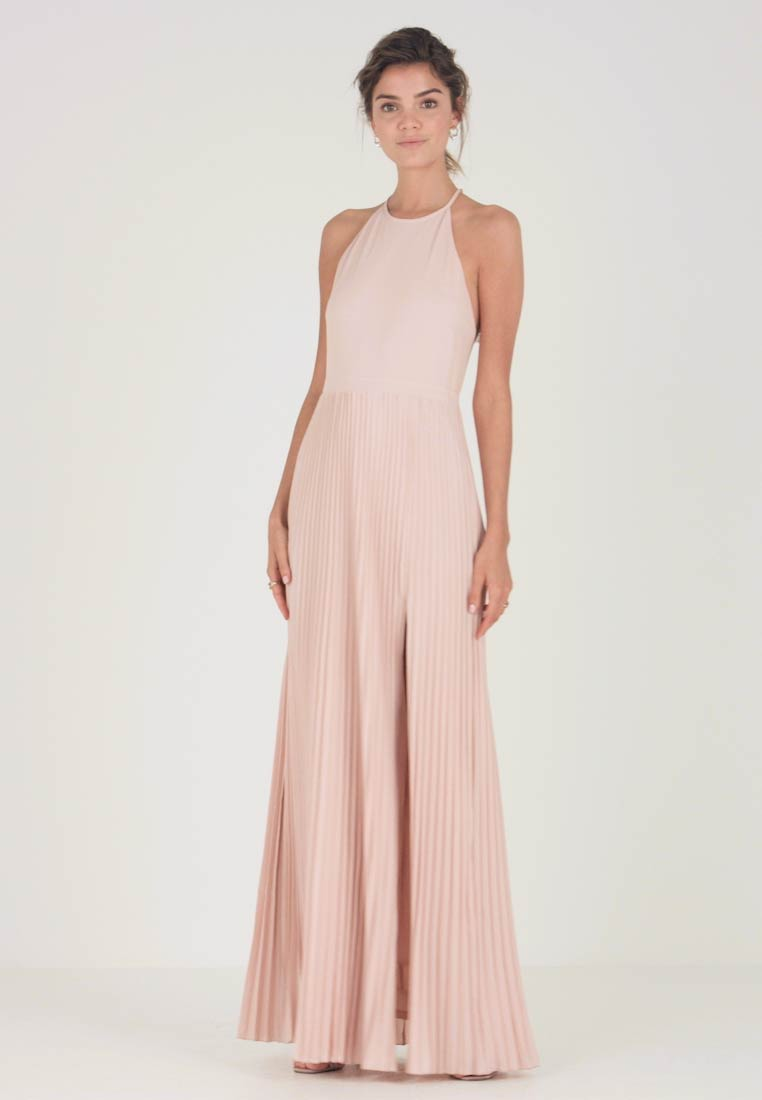 Nly by Nelly - PLEATED GOWN - Vestido de fiesta - rose