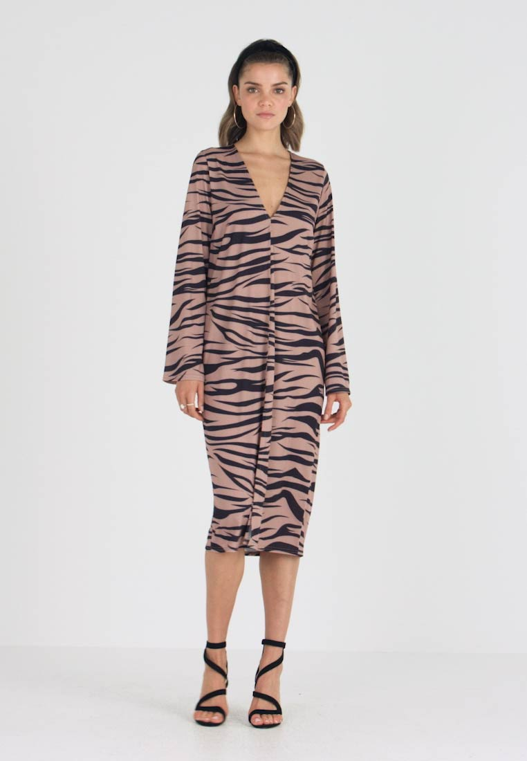 Nly by Nelly - HOPE DRESS - Maxi dress - light brown