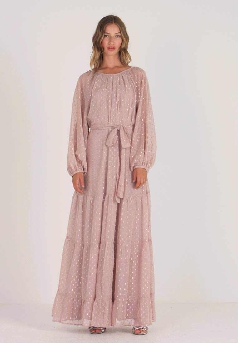 Nly by Nelly - VOLUME SPARKLE GOWN - Robe de cocktail - nougat