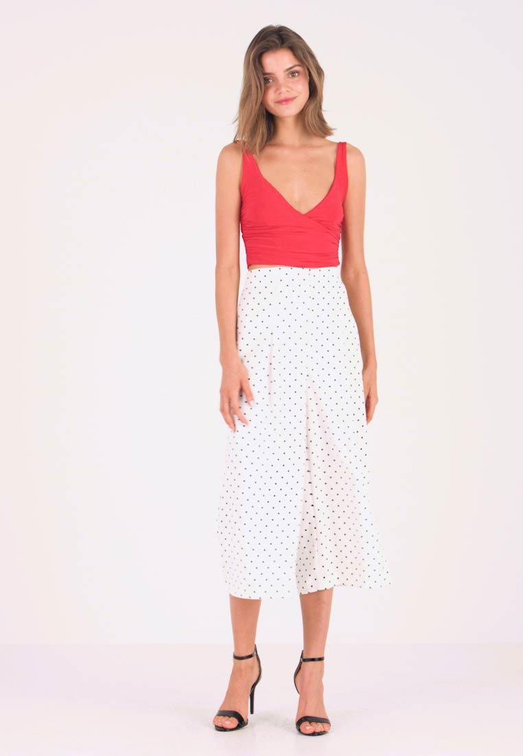 Nly by Nelly - V DROP CROP - Top - pink