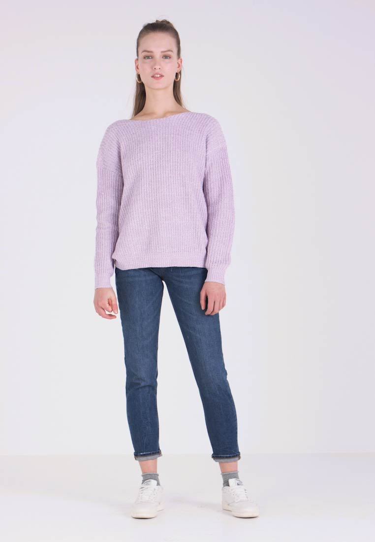 Nly by Nelly - TWISTED BACK  - Pullover - twisted lilac