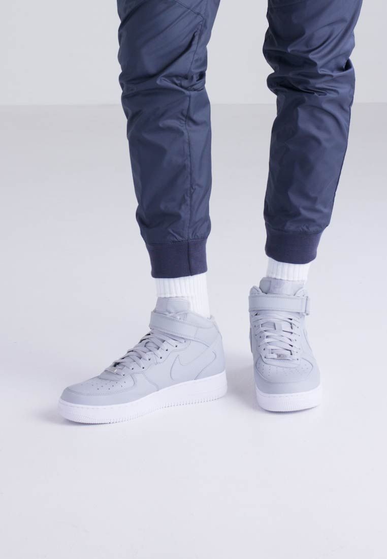 Nike Sportswear AIR FORCE 1 MID '07 '07 '07 - Sneaker high - wolf grey/white  Tragbare Schuhe 9a3d7e