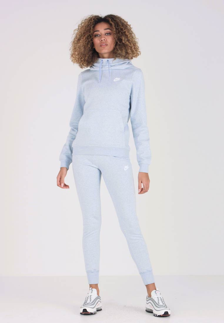 Nike Sportswear - PANT TIGHT - Pantalon de survêtement - mottled light blue