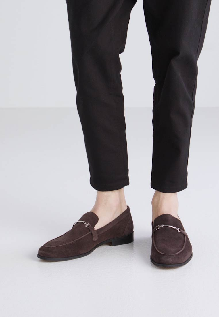 New Look HORSEBIT LOAFER - Mocasines dark brown