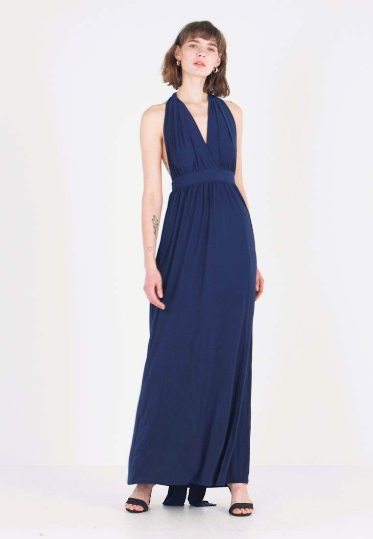 New Look - BRIDAL GO MULTIWAY GATHERED - Maxi dress - navy
