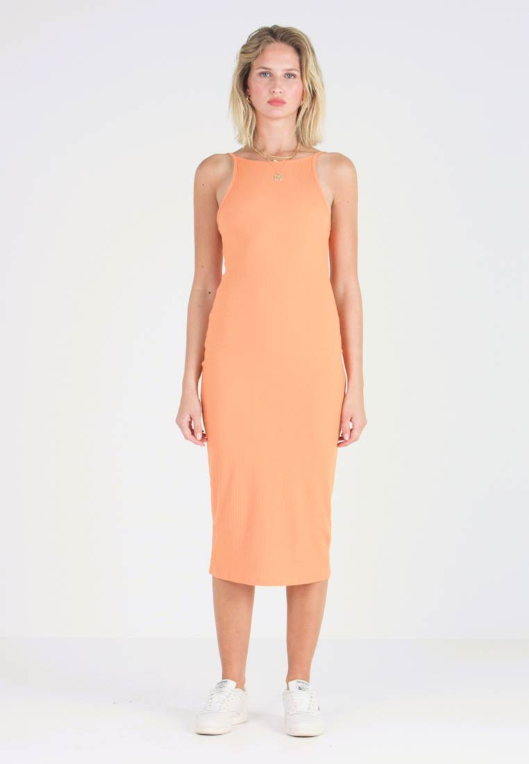 New Look - STRAPPY VARY - Shift dress - orange