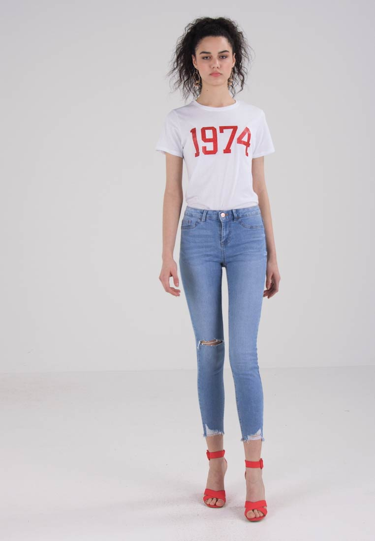 New Look ENTRY SKINNY - Jeans Skinny Fit - pale blue