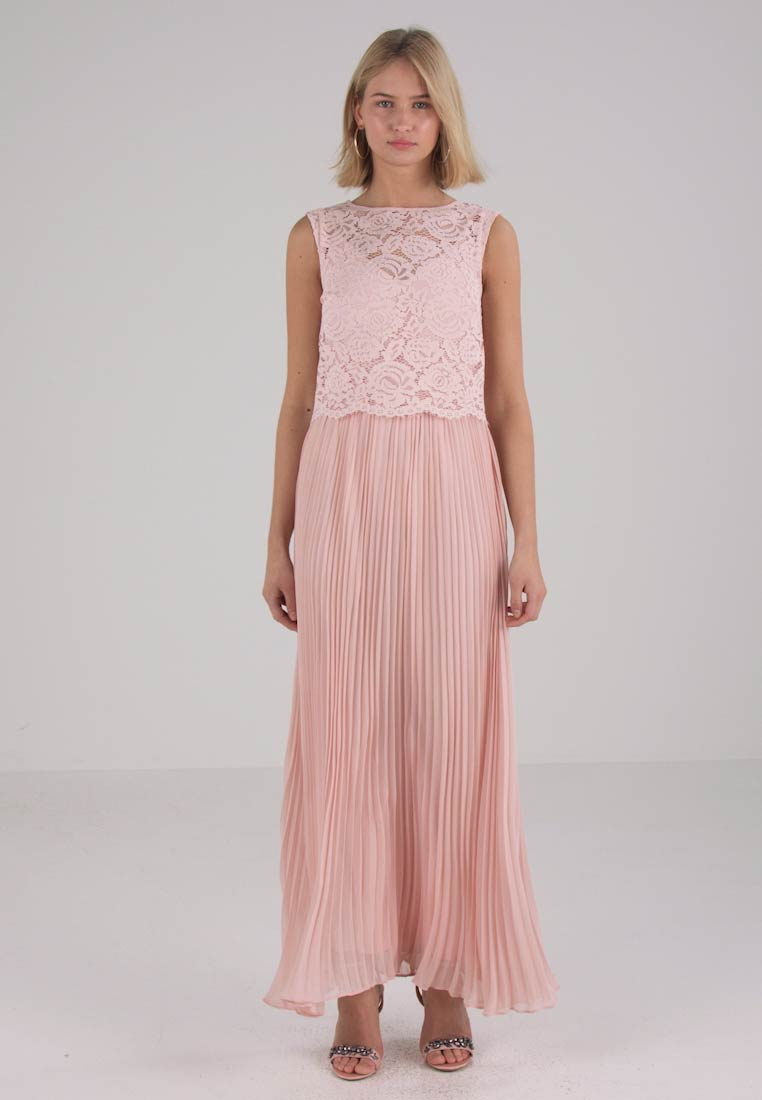 11ce95cd7896 Oasis - GRACIE PLEATED MAXI DRESS - Cocktail dress / Party dress - dusky  pink