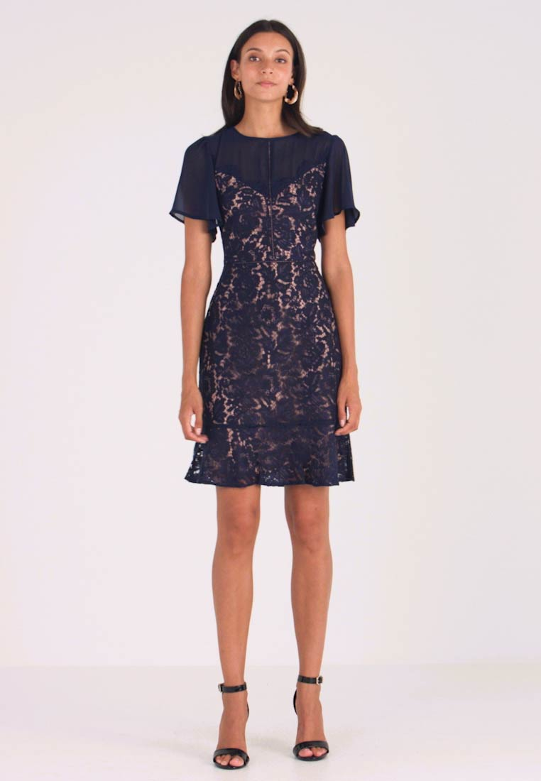 Oasis - SKATER - Cocktail dress / Party dress - navy