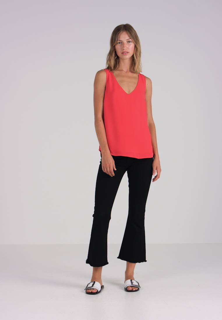 VEST red HIGH BACK Camicetta Oasis R7HOan