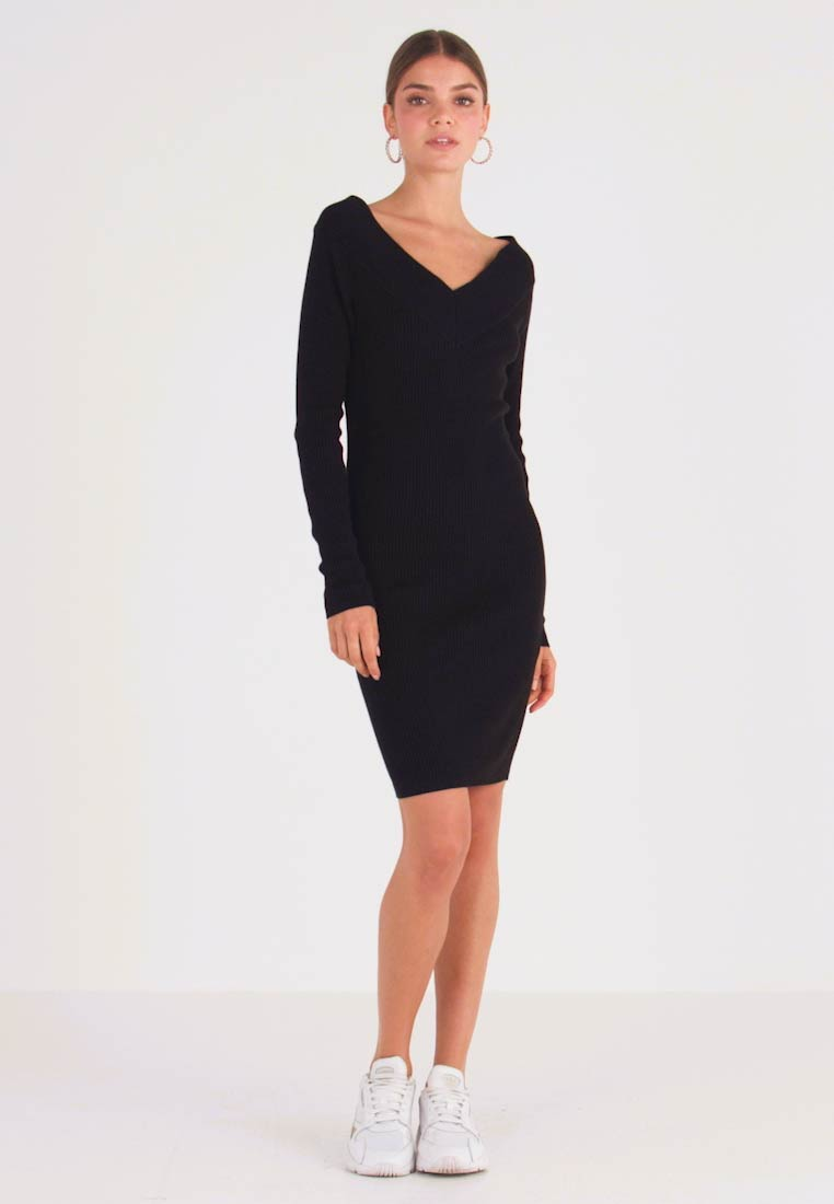 Object - OBJFEVA DRESS - Jumper dress - black