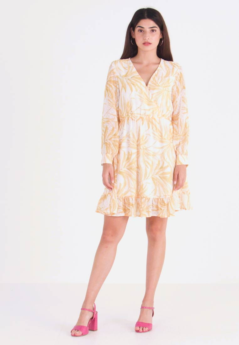 Object Petite - OBJVITA DRESS - Kjole - yellow