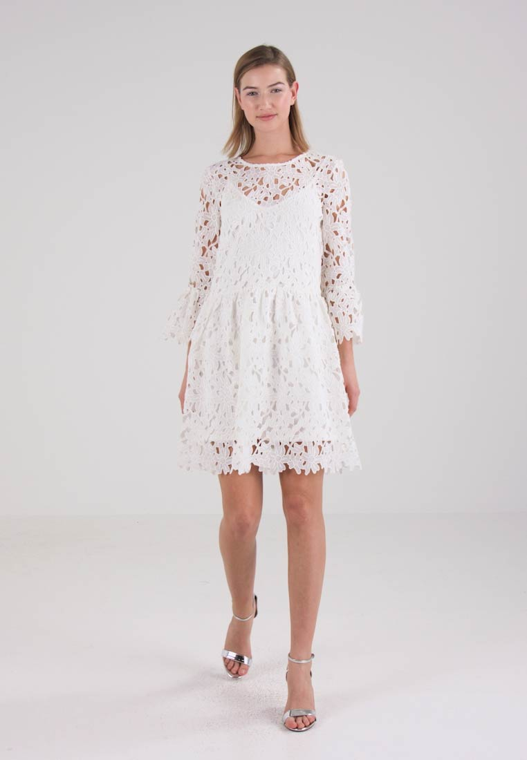Day Dress White Frill Onldaisy Only qgRUtt