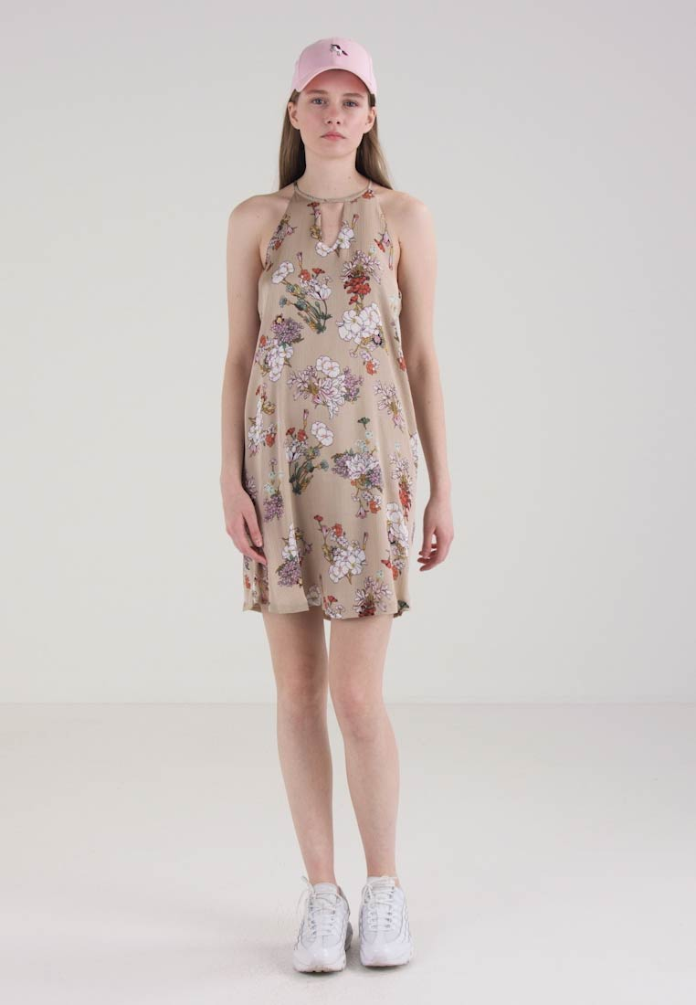 ONLY ONLEVA DRESS - Sommerkjole - feather gray