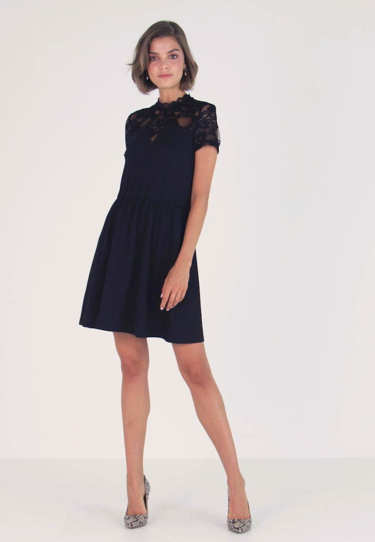 ONLY - ONLMONNA MIX DRESS - Jerseykleid - black
