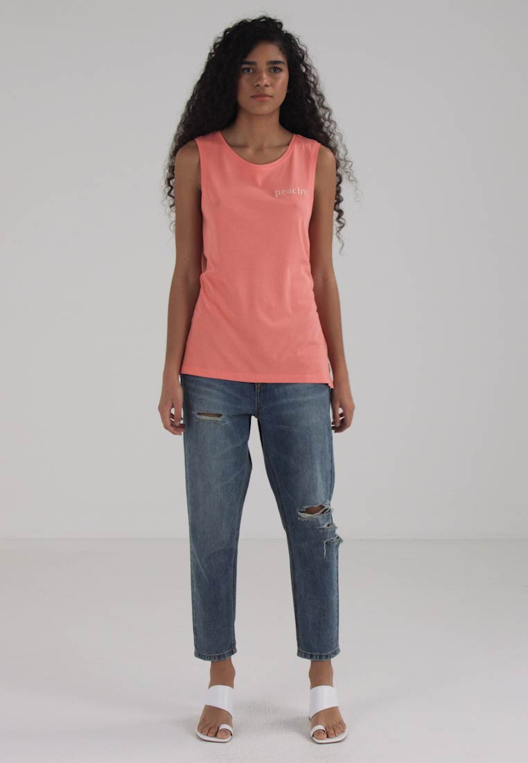 ONLY ONLPENNY TANK BOX  - Topper - coral/peachy